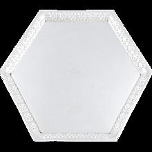 Josef Hoffmann silver tray ca. 1908 Wiener Werkstatte
