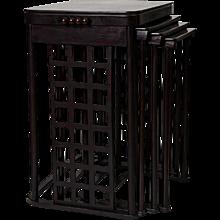 Nesting tables Josef Hoffmann 1905 Jakob & Josef Kohn model no.988