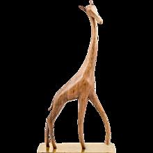 Werkstatte Hagenauer Vienna giraffe marked ca. 1950