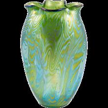 Loetz-Widow Phenomen Genre 7499/I Vase World Exhibition 1900