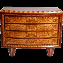 Italian origin Art-Deco chest of drawers