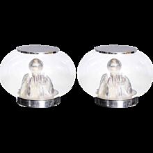 Pair of Italian Origin Table Lamps