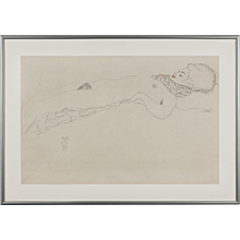Photoengraving Reclining Nude