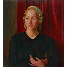 Portrait of Martha Quandt