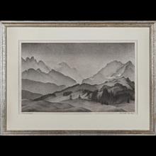 Bergwelt / Wetterstein by Alexander Kanoldt