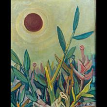 """Sinkende Sonne"" ( Setting Sun ) by Walter Wellenstein"