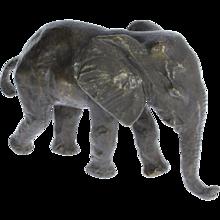 "Bronze ""Young Elephant"" by Renée Sintenis"