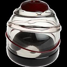 Luciano Gaspari Sasso Glass Vase