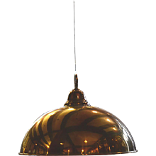 "Adolf Loos 1908 Ceiling Lamp ""Comptoir 50"", Re-Edition"