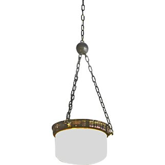 "Adolf Loos 1908 Ceiling Lamp ""Topferl"", Re-Edition"