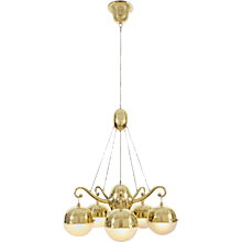 20th Century Josef Hoffmann & Wiener Werkstaette Ceiling Lamp, Re-Edition 1918