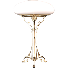 An Austro-Hungarian Table Lamp