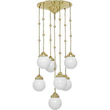 Koloman Moser, Josef Hoffmann & Wiener Werkstätte Ceiling Lamp - Edition 1904