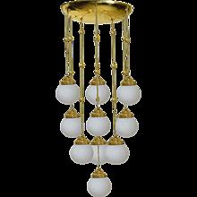 A Koloman Moser, Josef Hoffmann & Wiener Werkstätte Ceiling Lamp - Edition 1904