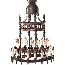 Otto Wagner Chandelier 19th century