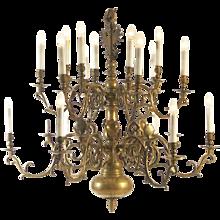 Original 18th century Broque Chandelier