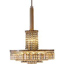Very Elegant Bakalowits Chandlier from the 1960s