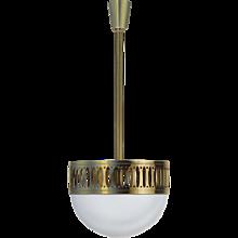 Wiener Werkstaette Ceiling Light -Edition 1903