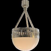 A Wiener Werkstaette Ceiling Light -Edition 1903