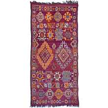 Vintage Moroccan / North African Berber Rug