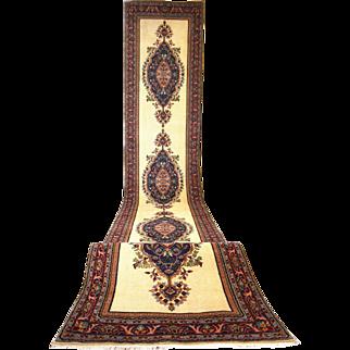 Vintage Turkish Long Runner Rug