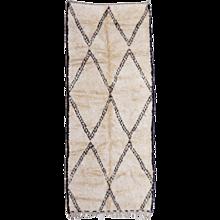 Vintage Oversize Beni Ourain North African Berber Rug