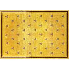 Original French Art Deco Rug Circa 1940