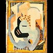 Albert Gleizes Refined Handwoven Rug