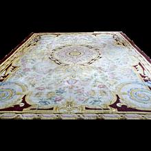 XIXth Century Rare Savonnerie Rug