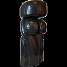 Wang Keping - Little Women - Bronze Sculpture