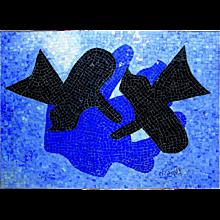 "Georges Braque - Mosaique, ""Pelias Et Nelee"""