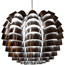Max Sauze Beautiful Silver Orion 60 Lighting