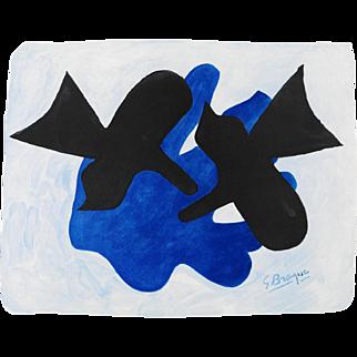 Georges Braque - Pelias et Nélée - Beautiful Litograph