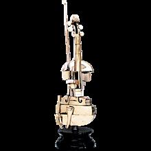 Arman - Violon Spiralé - Gilded Violin, 2001-2002