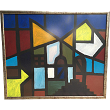 Abstract City painting 2006