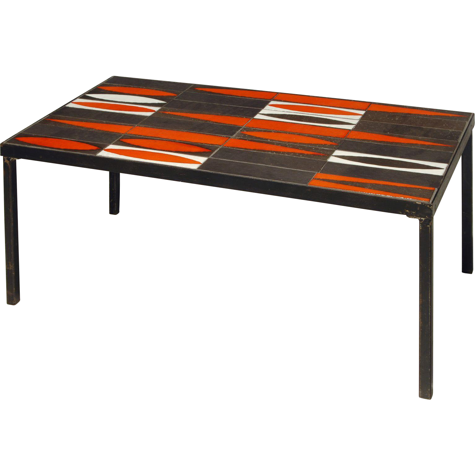 Mid-Century Modern Coffee Table By Roger Capron South Of