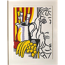 Still Life with Picasso, from Hommage à Picasso by ROY LICHTENSTEIN