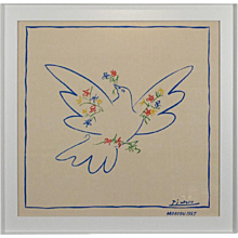 Dove of peace Foulard after Pablo Picasso, 1957