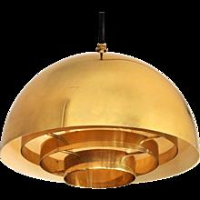 Brass Pendant by Vereinigte WerkstäTten München, 1960s