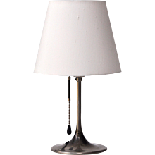 Pair of Bronzewarenfabrik 1930's Bedside Lamps
