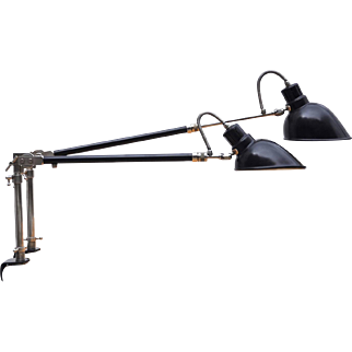 Architect Clamp Lamp from Alfred Muller for Amba, Switzerland