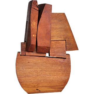 """Bateau Celeste"" By Charles de Montaigu, Switzerland 1976"