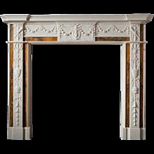Darley – Georgian Sienna Fireplace