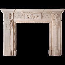 Holywood – Stone Fireplace