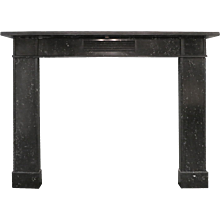 Antique Irish Regency Kilkenny Marble Fireplace