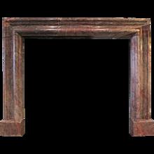 19th Century Bolection Fireplace mantel  in Ashburton Marble