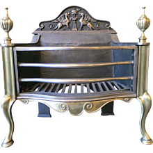 Antique Georgian Style Fire Basket