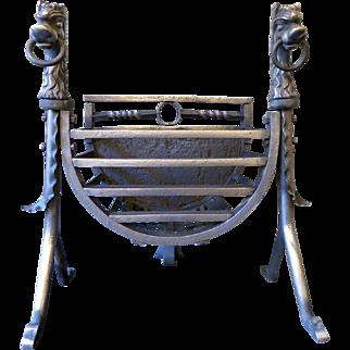 19th Century English Arts & Crafts Fire Grate