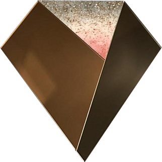 Gem Mirror Wall Art