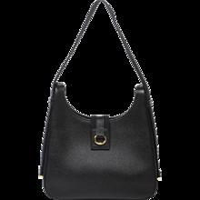 Hermès Tsako Black Ardennes Leather